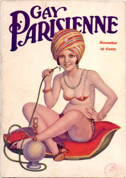 Gay Parisienne pulp cover.