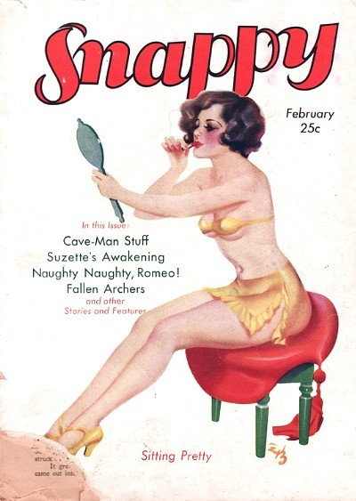 Snappy pulp cover.