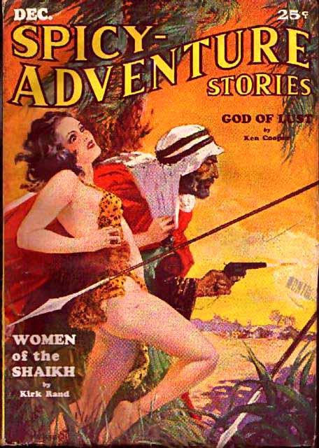 Spicy-Adventure Stories Dec. 1934.