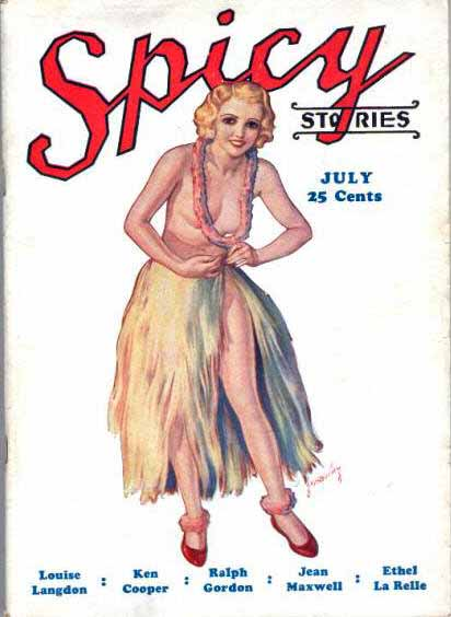 Spicy Stories July 1933.