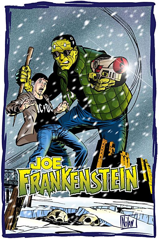 Joe Frankenstein art and logo.
