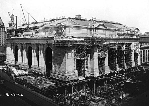 GrandCentralTerminalConstruction