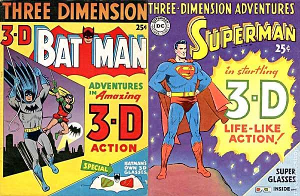 Batman, Superman3-D