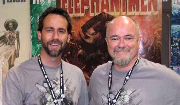 JG Roshell and Richard Starkings