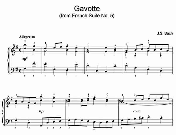 GavotteFrenchSuiteNo5Bach