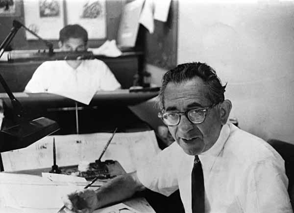 Ira Schnapp at DC Comics 1955