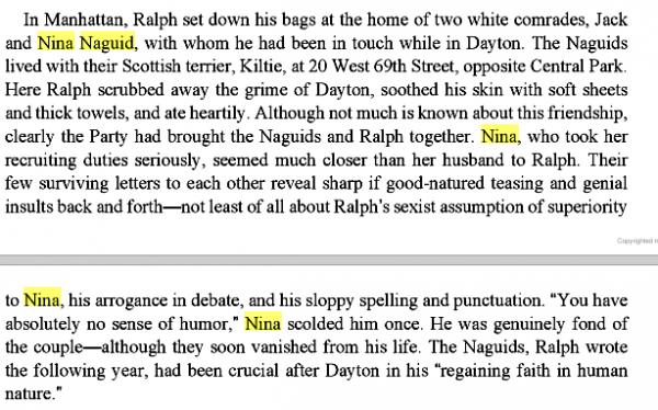 Ralph Ellison by Arnold Rampersad1938