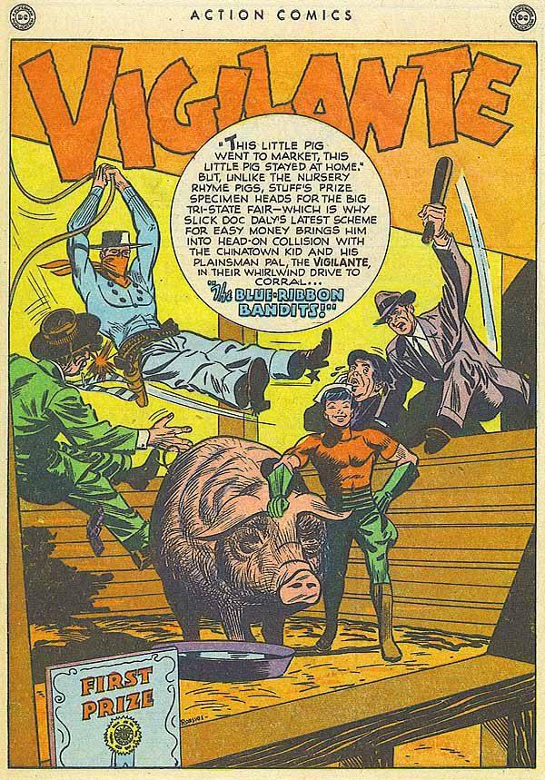 Action 118 Vigilante page