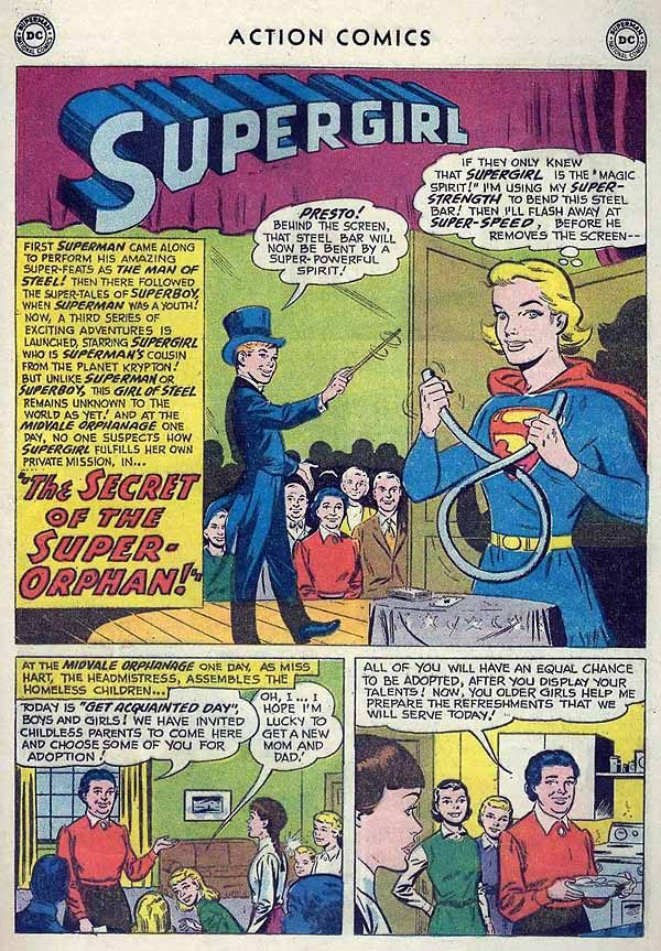 Action 253 Supergirl page