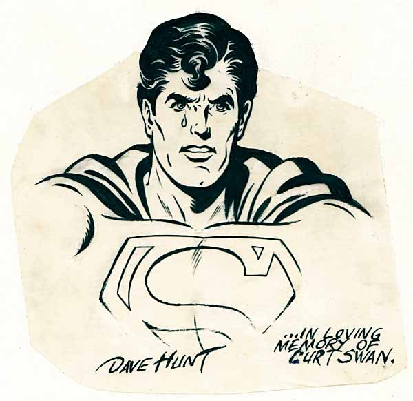 Superman by Dave Hunt.