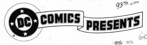 DC Comics Presents logo by Todd Klein.