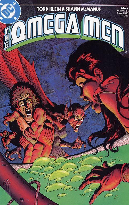 Omega Men #26 front cover.