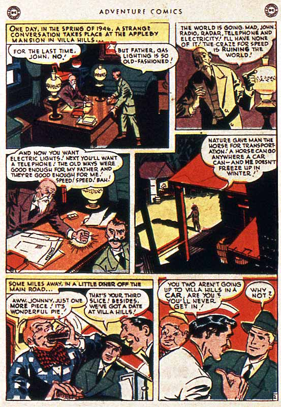 Adventure 111 Johnny Quick page