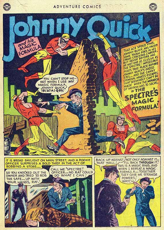 Adventure 150 Johnny Quick page