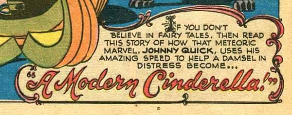 Adventure 124 Johnny Quick page detail