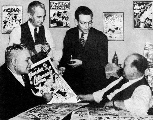 Wonder Woman creators at All-American Comics