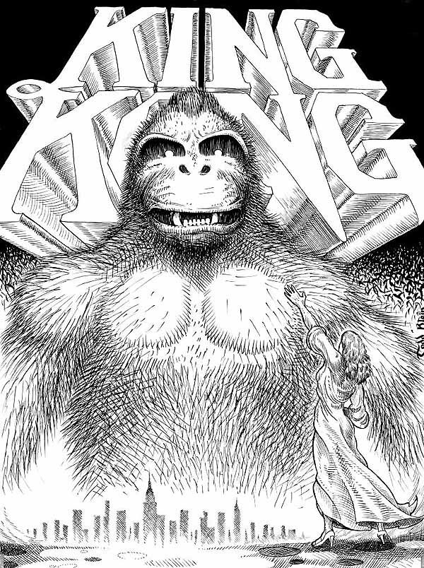 King Kong by Todd Klein