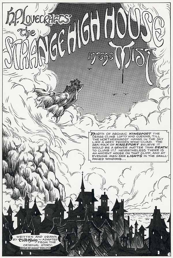 Lovecraft story by Todd Klein