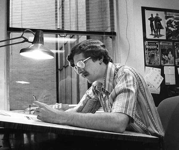 Todd Klein by Jack Adler, 1978.