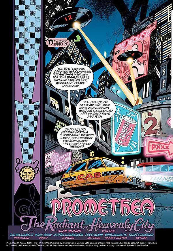 Promethea 1 page
