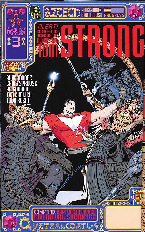 Tom Strong 3 front cover