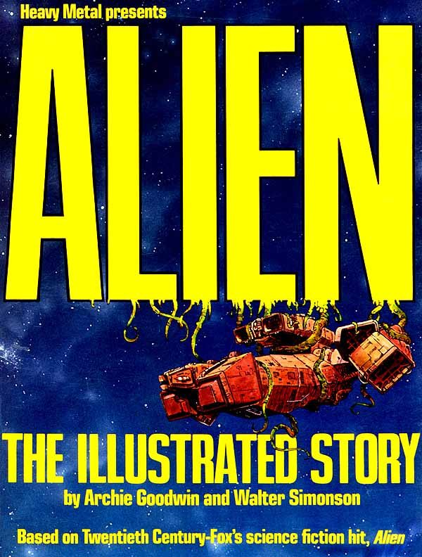 Alien the Illustrated Story cover