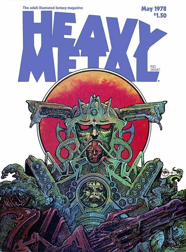 Heavy Metal May 1978