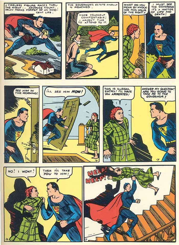 Superman 1 page