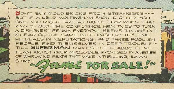 Superman 35 page 1 detail