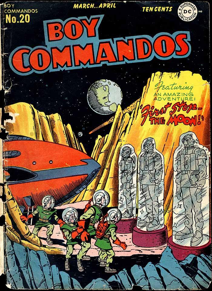 Boy Commandos 20 cover