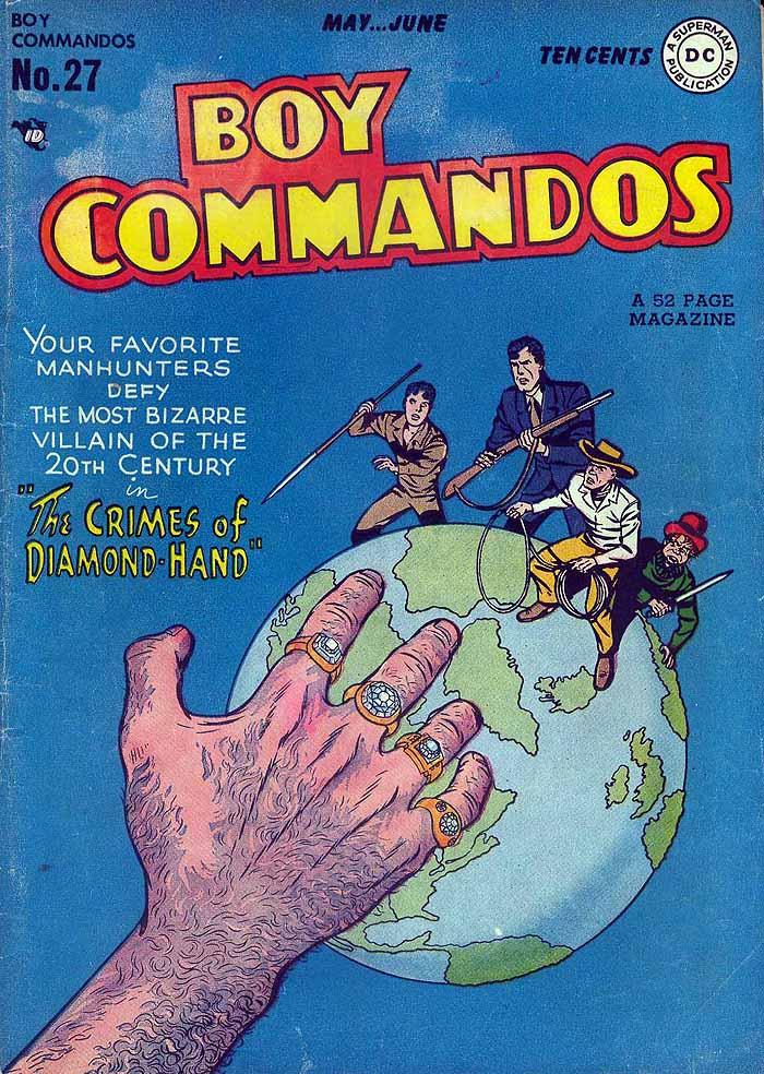 Boy Commandos 27 cover