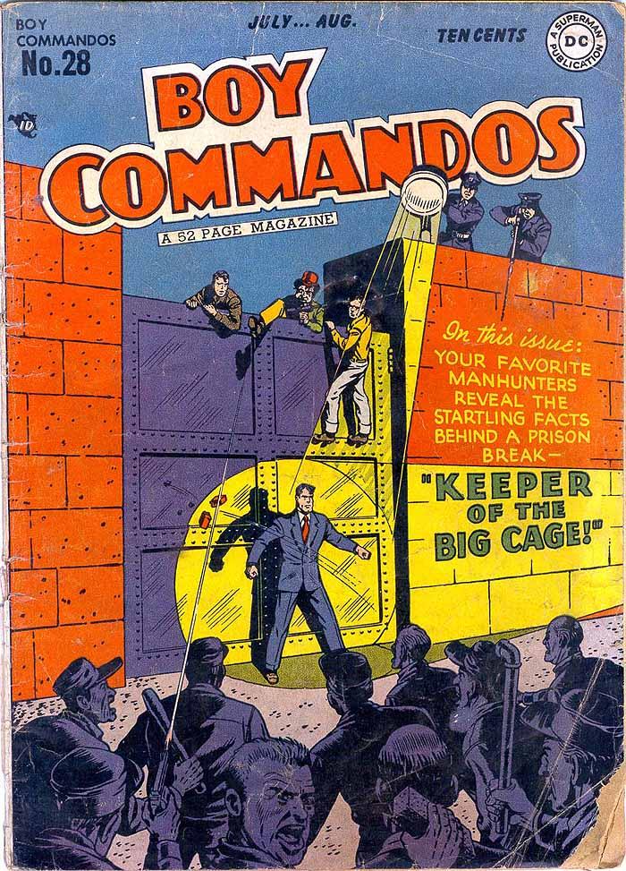 Boy Commandos 28 cover