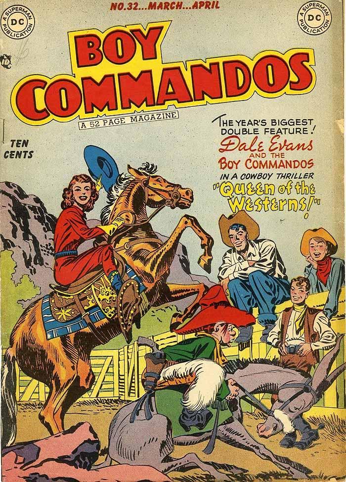 Boy Commandos 32 cover