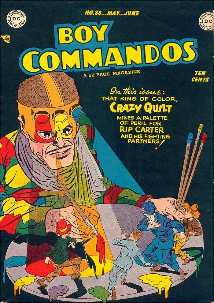 Boy Commandos 33 cover