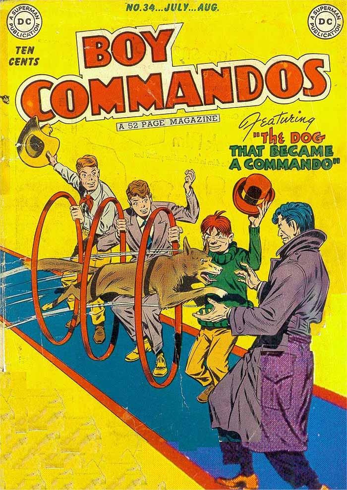 Boy Commandos 34 cover