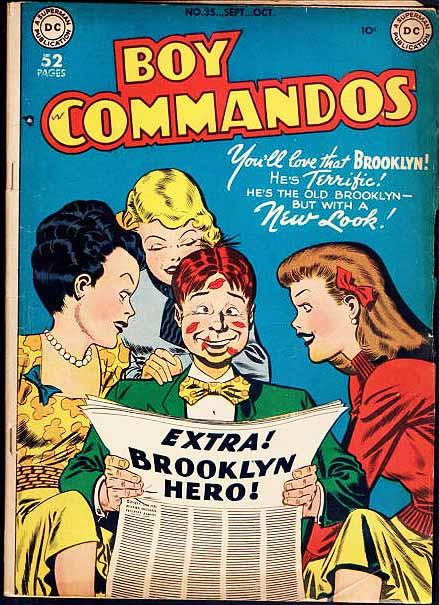 Boy Commandos 35 cover