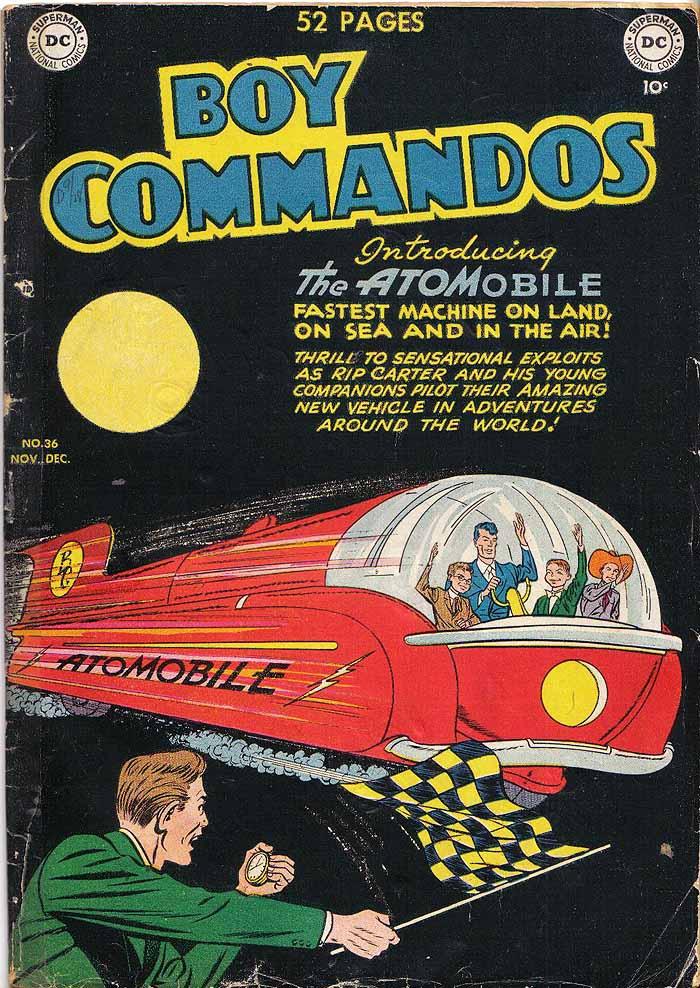 Boy Commandos 36 cover