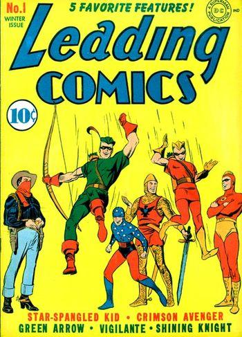 Leading Comics 1 cover