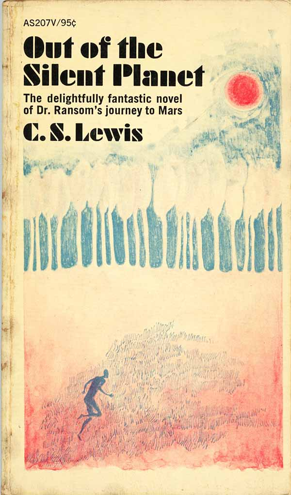 a book analysis of out of the silent planet by c s lewis The first book in c s lewis's acclaimed space trilogy, which continues with perelandra and that hideous strength there we find that each of the planets hosts an eldil or angel responsible for that planet our planet, the silent one, no longer converses with the others because our angel is the bent.