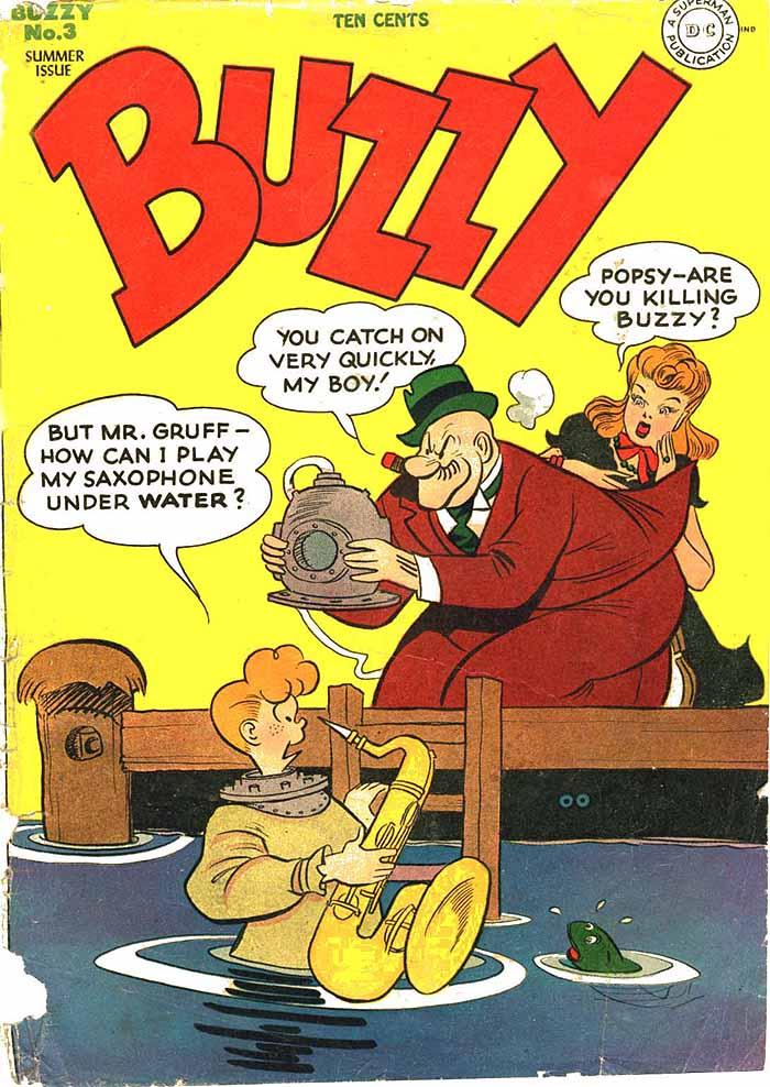 Buzzy 3 cover