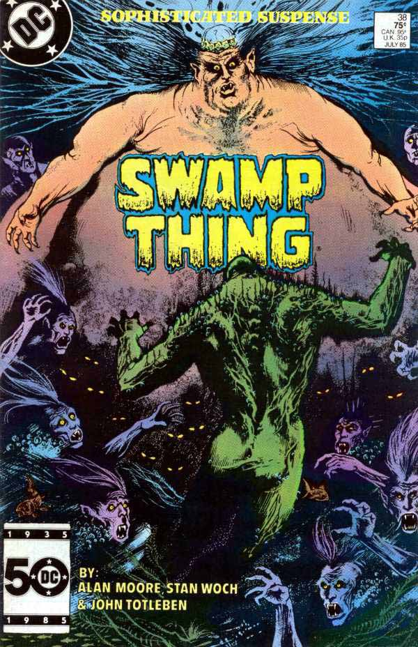 Swamp Thing 38 cover