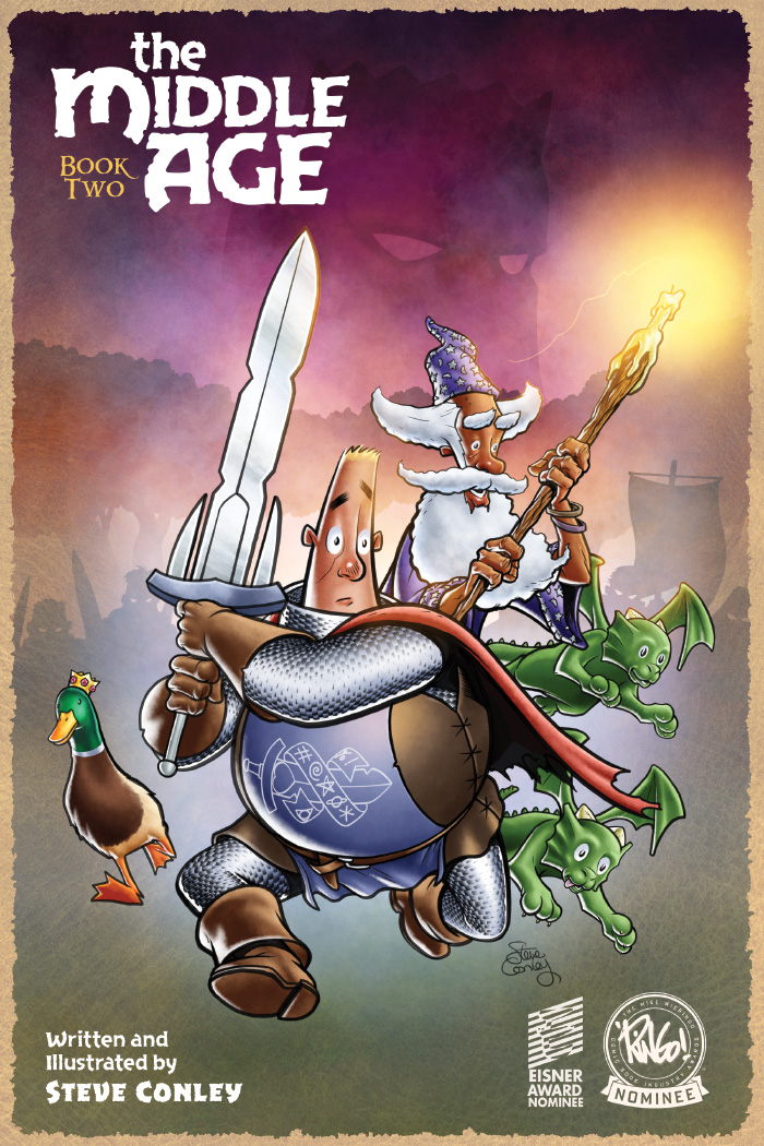 And Then I Read: THE MIDDLE AGE BOOK TWO by Steve Conley