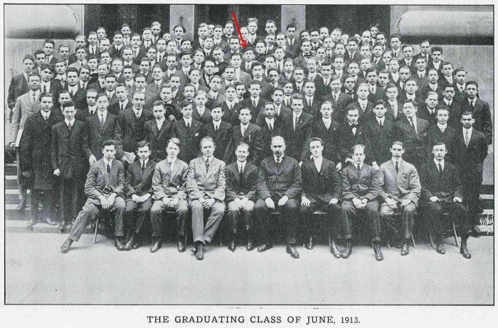 Graduating Class June 1913