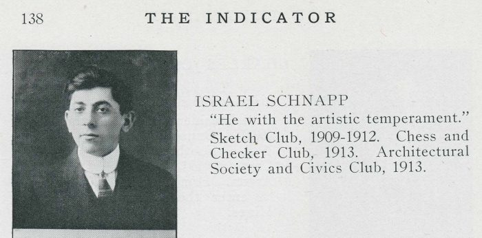 Ira Schnapp from HS Yearbook