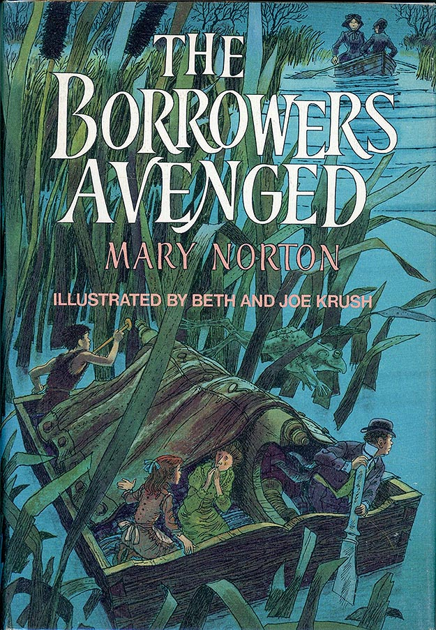 The Borrowers Avenged front cover art by Beth and Joe Krush
