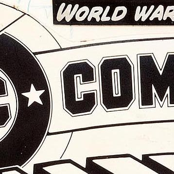Detail of DC Comics Presents logo