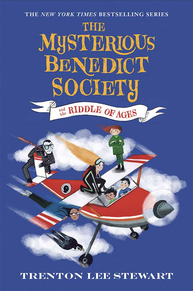 Front cover The Mysterious Benedict Society and the Riddle of the Ages by Manu Montoya