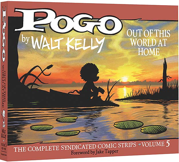 Front cover of Pogo, Out Of This World At Home.