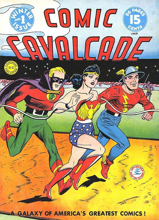 Comic Cavalcade 1 cover