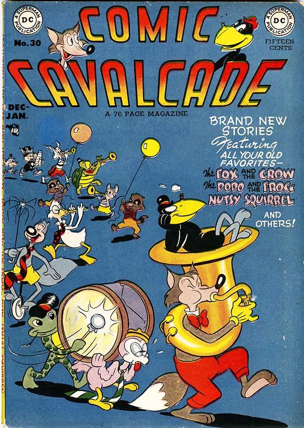 Comic Cavalcade 30 cover